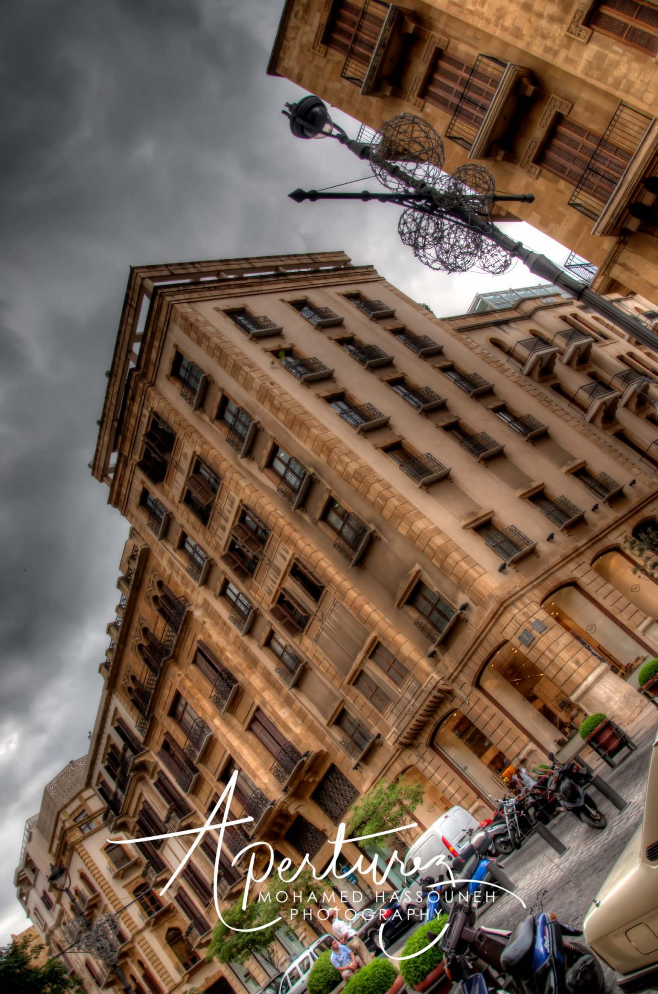 IN MY ANGLE  DOWNTOWN BEIRUT
