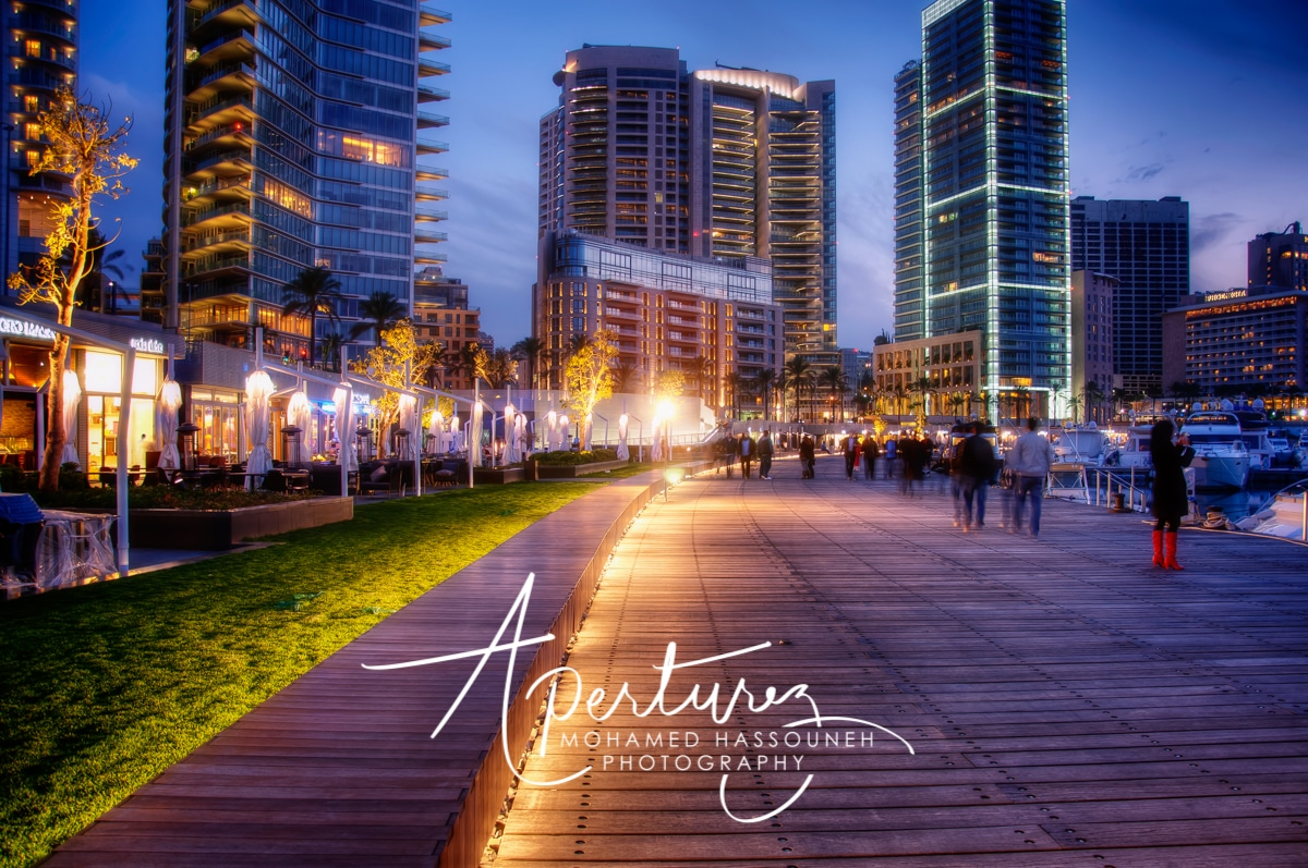 NIGHTFALL IN BEIRUT