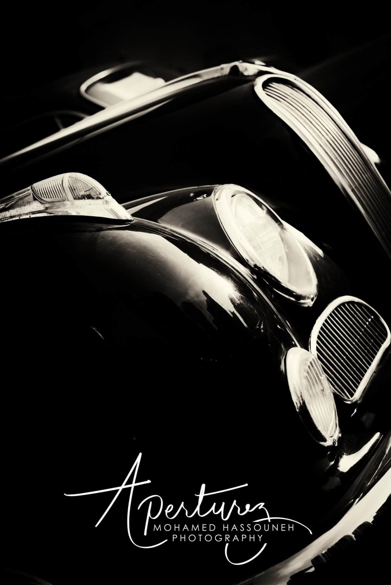 Old timer BMW V8