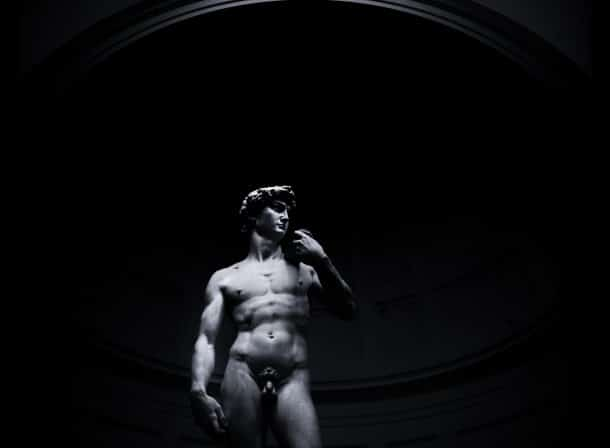 DAVID STATUE BY MICHELANGELO